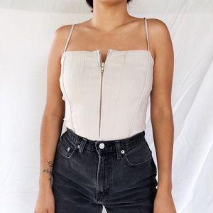 Vintage corset top